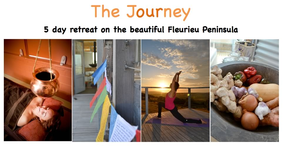 5 day retreat on the beautiful Fleurieu Peninsula