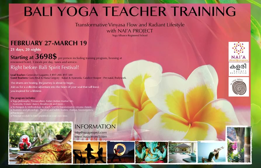 Bali Yoga Teacher Training
