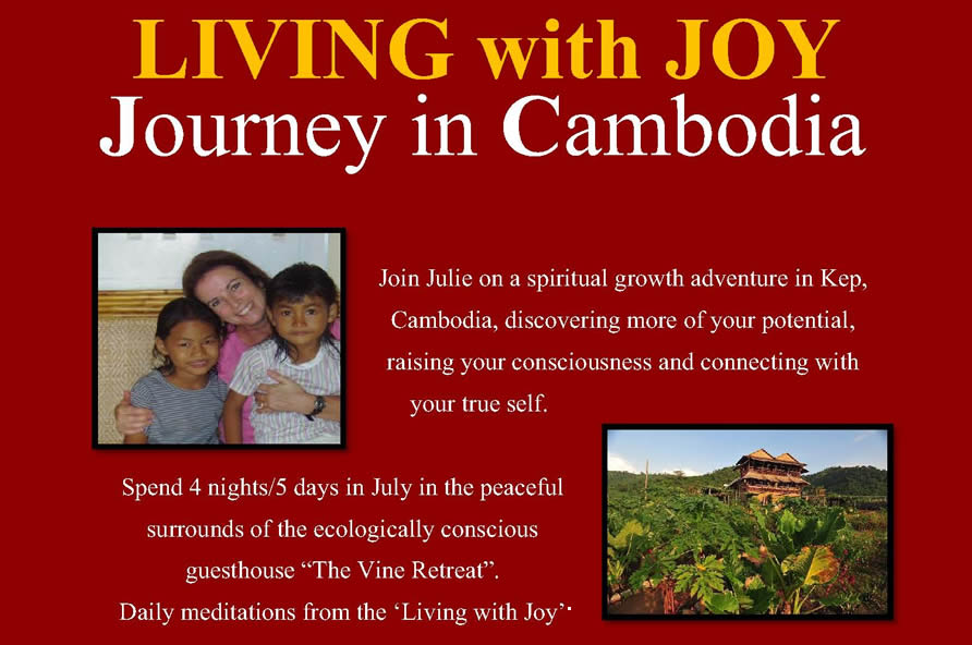 Living with Joy Journey in Cambodia