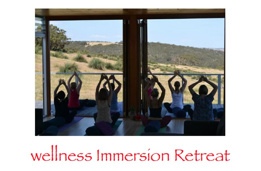 Wellness Immersion Retreat March Long Weekend 7-10th March 2014  Springmount Retreat, Inman Valley, South Australia